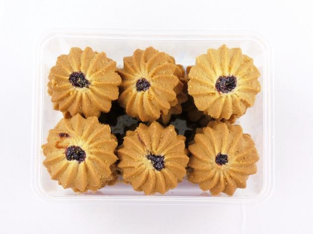 藍莓菊花奶酥 1