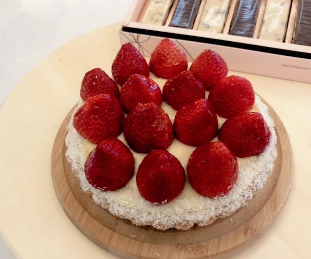 甜心草莓派 1