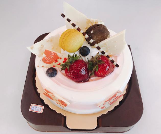 生日蛋糕-蘋果,布丁口味 1