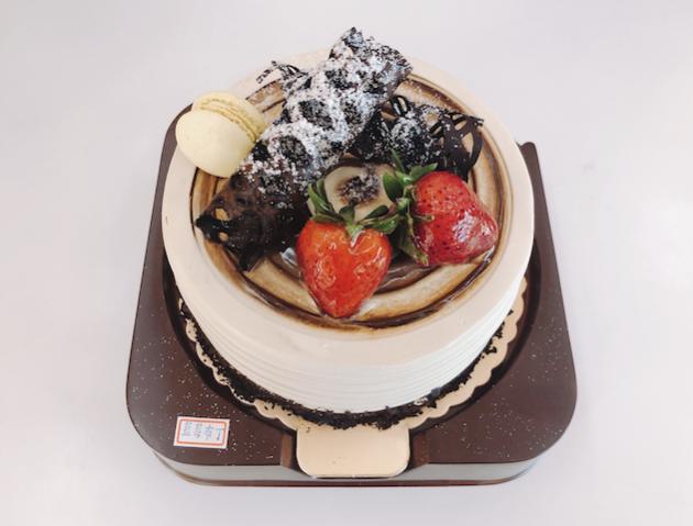 生日蛋糕-藍莓,布丁口味 1
